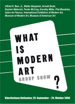 What is Modern Art? (Group Show)